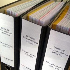 CDU fordert Etatberatungen des Gemeinderates zum Nachtragshaushalt