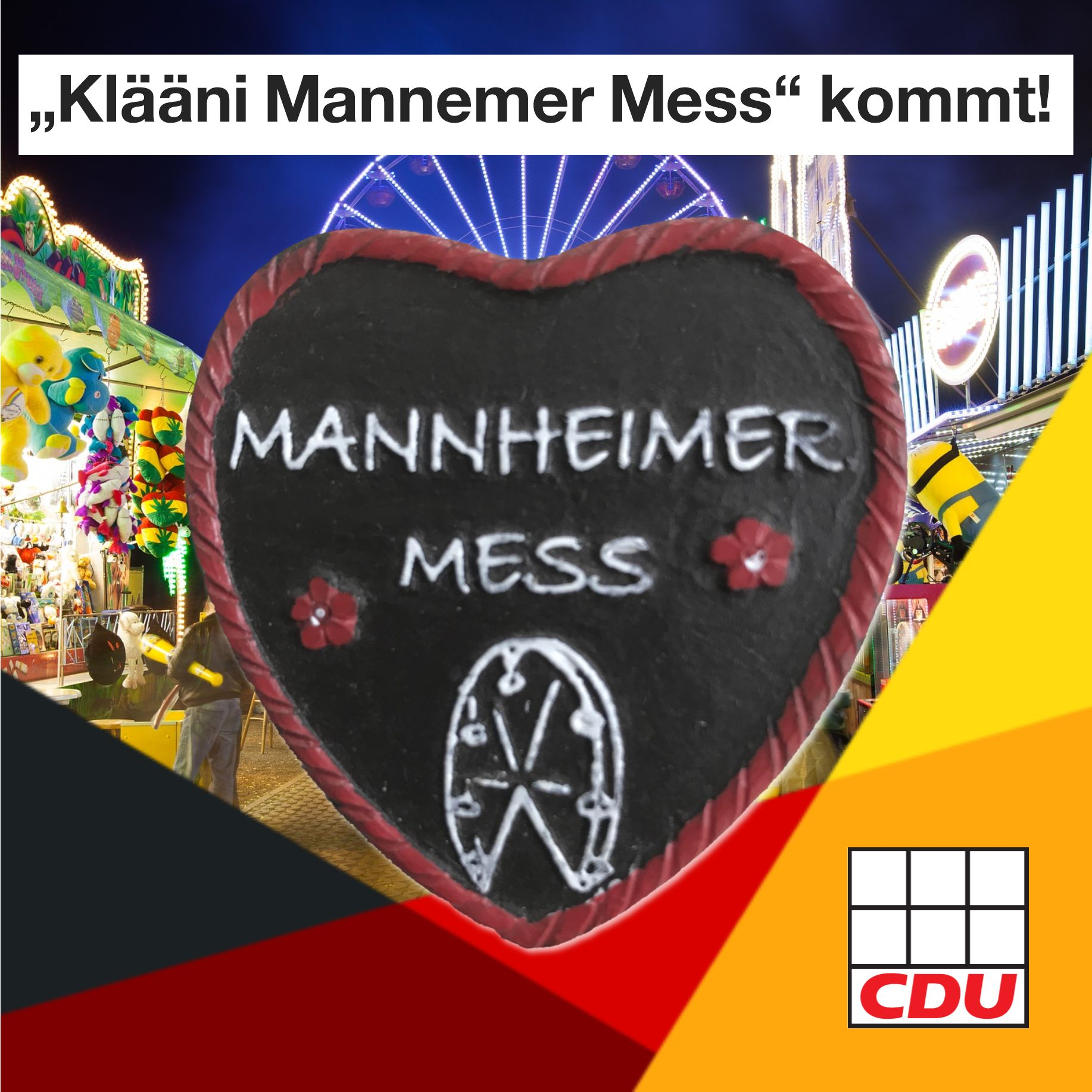 """Klääni Mannemer Mess"" kommt"