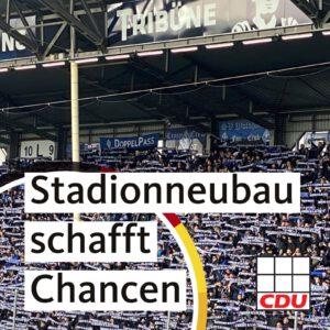 Neubau eines Fußballstadions im Bösfeld ermöglicht riesige Stadtentwicklungschancen