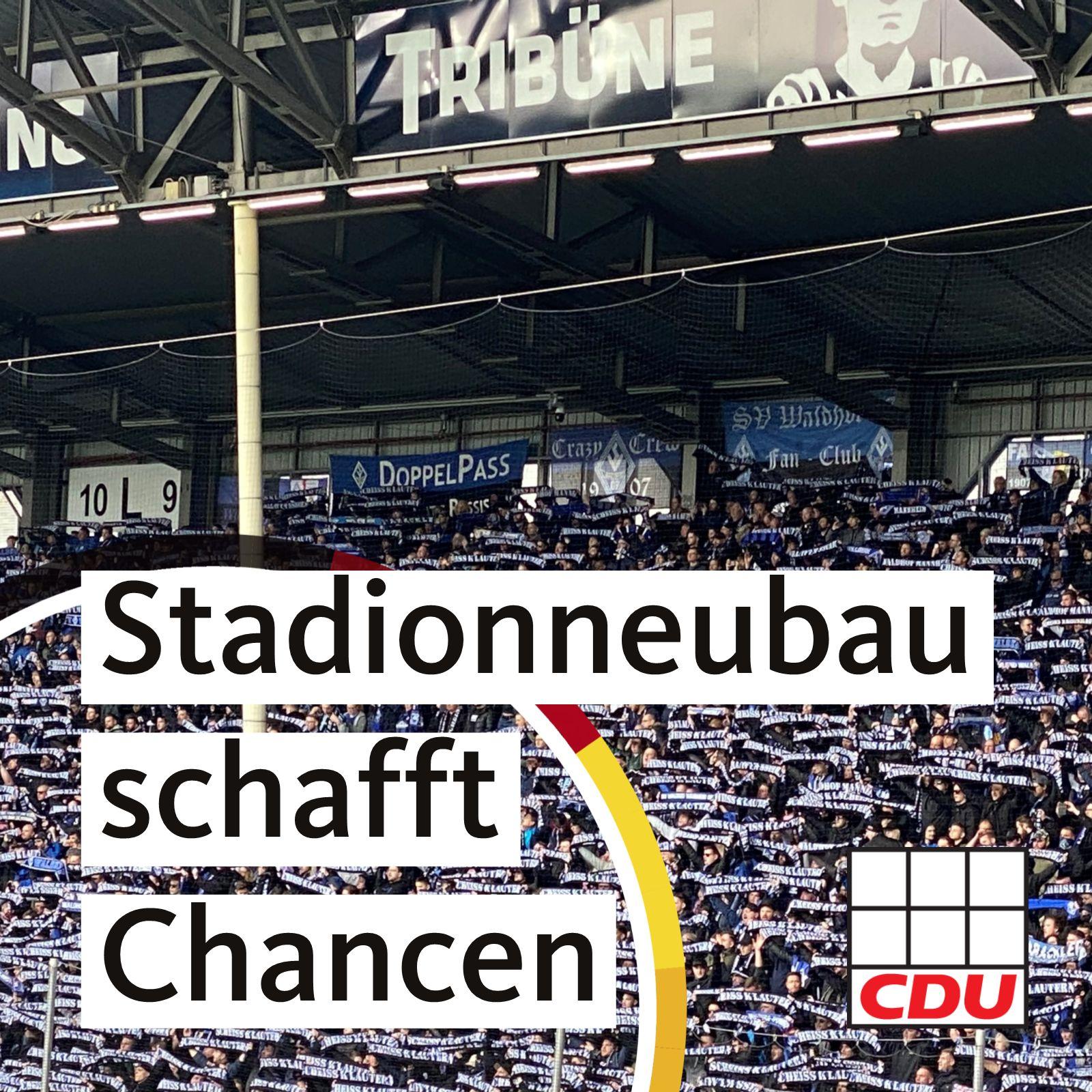 Read more about the article Neubau eines Fußballstadions im Bösfeld ermöglicht riesige Stadtentwicklungschancen