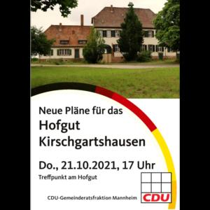 Neue Pläne für das Hofgut Kirschgartshausen